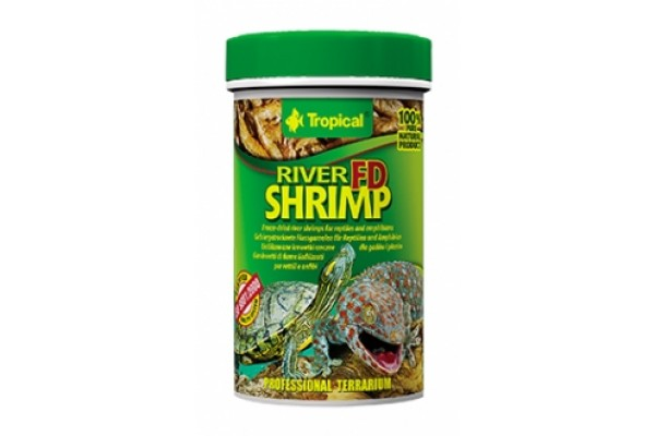 Tropical Fd River Shrimp 100ml/10g Dobozos
