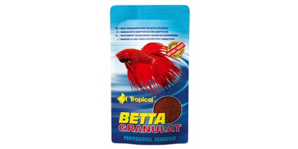 Tropical Betta Gran. 10g Zacskós