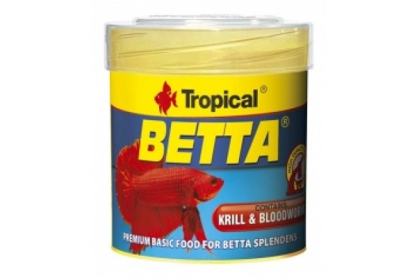 Tropical Betta Lemezes 100ml/25g Dobozos