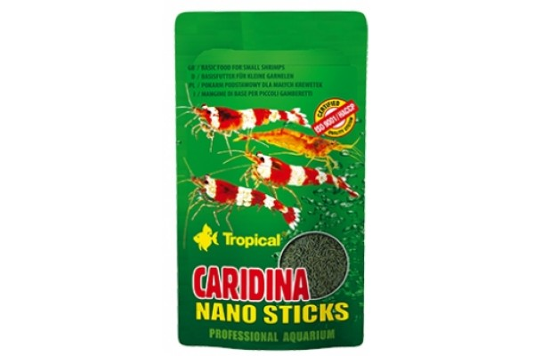 Tropical Caridina Nano Sticks 10g Zacskós