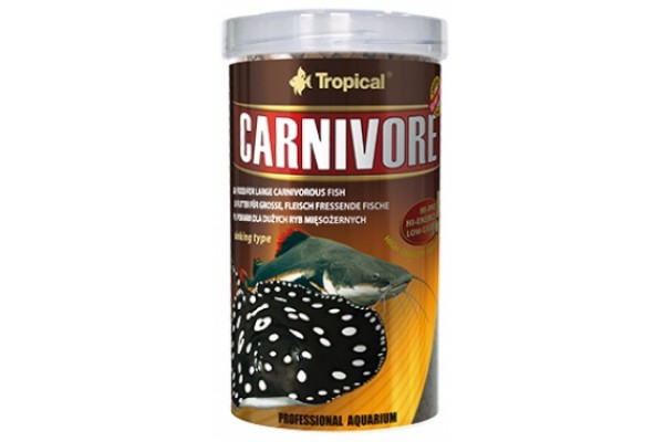 Tropical Carnivore Gran. 500ml/300g Dobozos