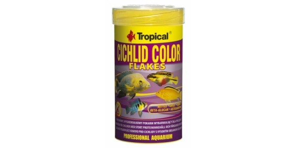 Tropical Cichlid Color Lemezes 100ml/20g Dobozos