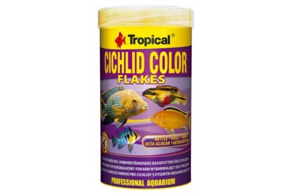 Tropical Cichlid Color Lemezes 300ml Dobozos