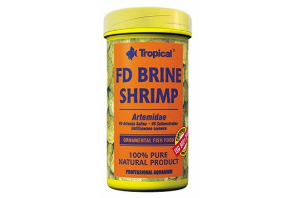 Tropical Fd Brine Shrimp 150ml/11g Dobozos