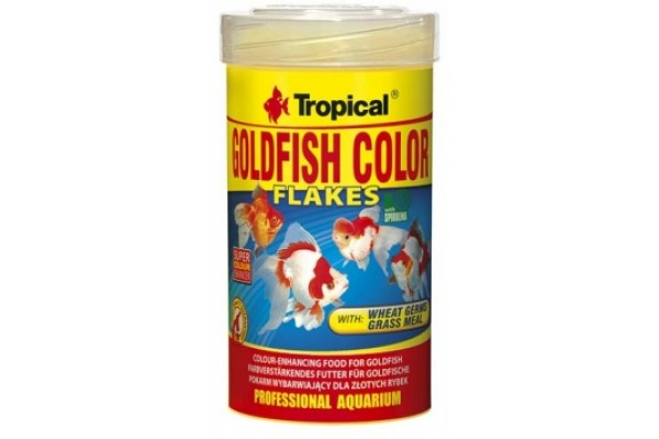 Tropical Goldfish Color Lemezes 100ml/20g Dobozos