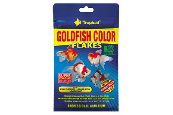 Tropical Goldfish Color Lemezes 12g Zacskós
