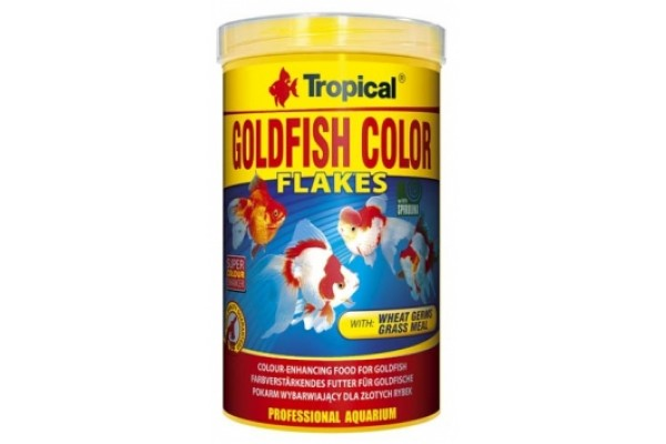 Tropical Goldfish Color Lemezes 250ml/50g Dobozos