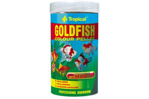 Tropical Goldfish Colour Pellet 250ml/90g Dobozos
