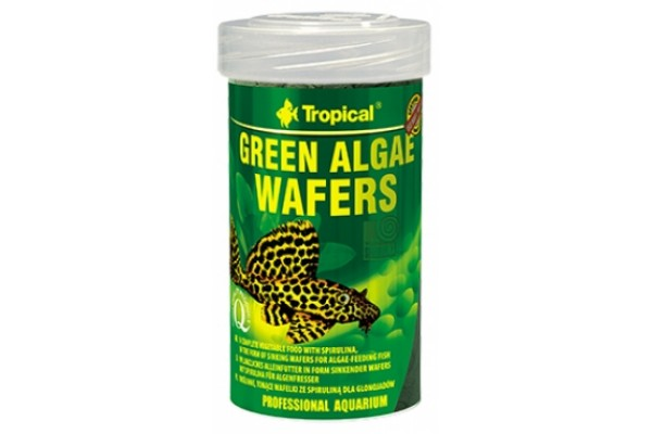 Tropical Green Algae Wafers Ostyás 100ml/45g Dobozos