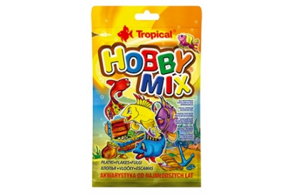 Tropical Hobby Mix Lemezes 12g Zacskós