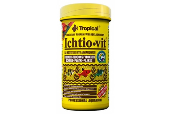 Tropical Ichtio-Vit Lemezes 250ml/50g Dobozos