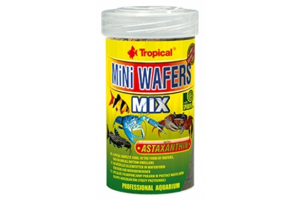 Tropical Mini Wafers Mix Ostyás 100ml/55g Dobozos