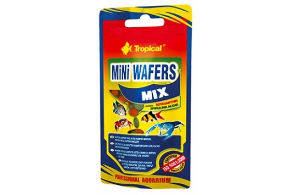 Tropical Mini Wafers Mix Ostyás 18g Zacskós