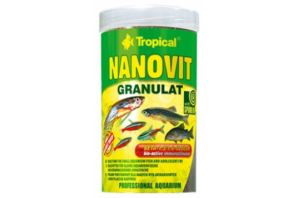 Tropical Nanovit Gran. 100ml/70g Dobozos