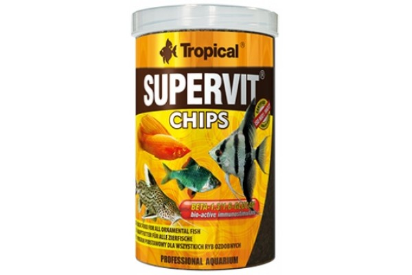 Tropical Supervit Chips 100ml/52g Dobozos