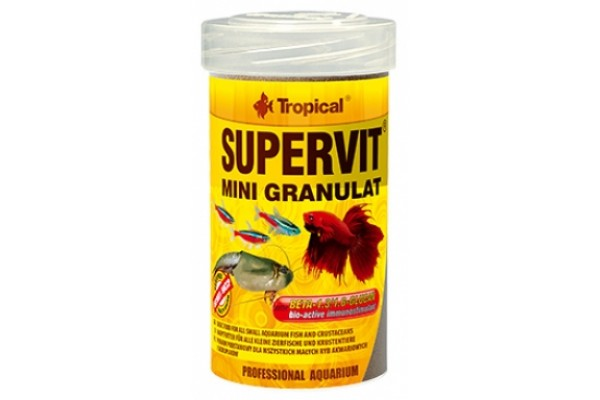 Tropical Supervit Mini Gran. 100ml/65g Dobozos