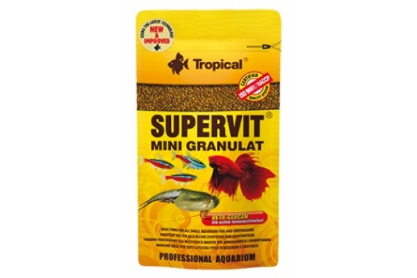 Tropical Supervit Mini Gran. 10g Zacskós