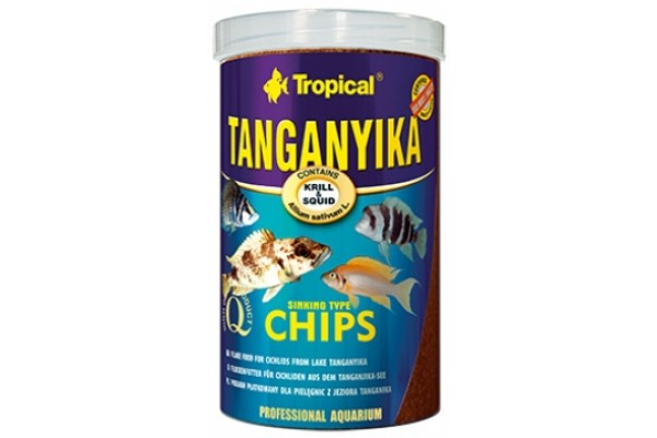 Tropical Tanganyika Chips 250ml/130g Dobozos