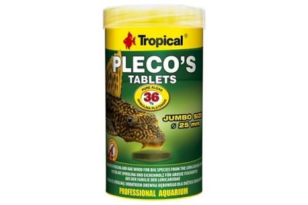 Tropical Pleco tabin Tbl. 250ml/135g Dobozos